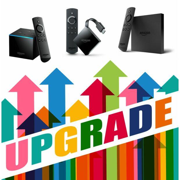 UPGRADE SERVICE für Amazon Fire TV (alle Modelle) | KODI VAVOO SKY Dienste | XXL-PAKET