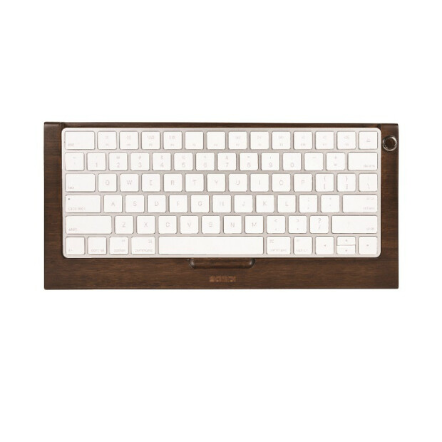 SAMDI ® Walnuss Case für Mac Keyboard Magic 2