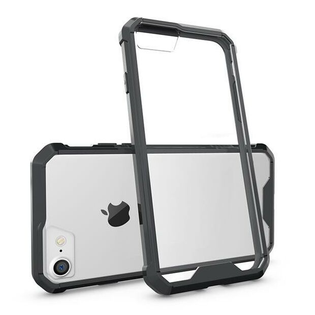 Hard Back Clear Case Hybrid | Hülle für iPhone 7 Plus / 8...