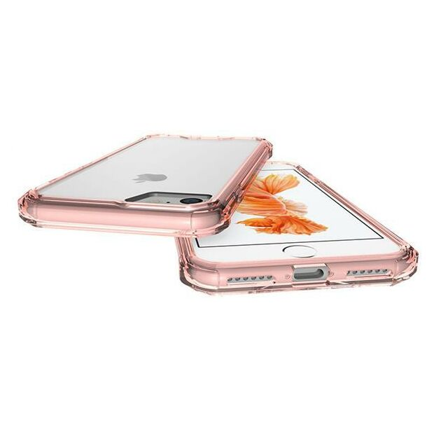 Hard Back Clear Case Hybrid | Hülle für iPhone 7 Plus / 8 Plus rosé