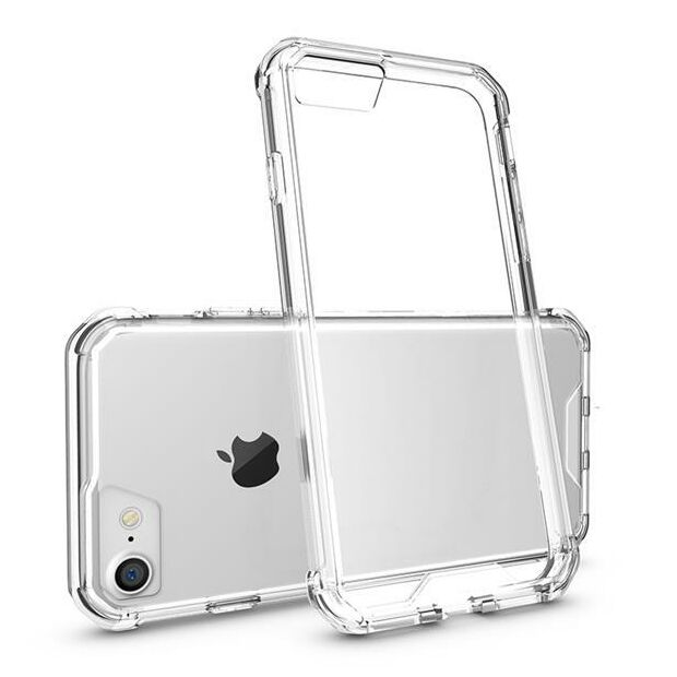 Hard Back Clear Case Hybrid | Hülle für iPhone 7 Plus / 8 Plus