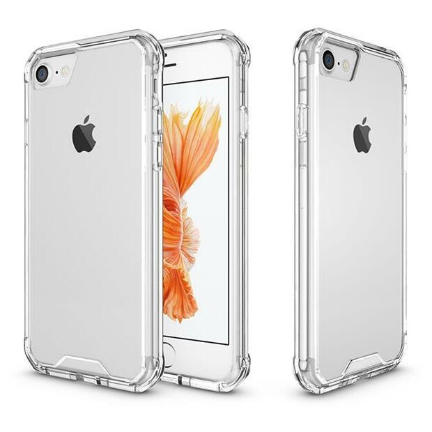 Hard Back Clear Case Hybrid | Hülle für iPhone 7 / 8
