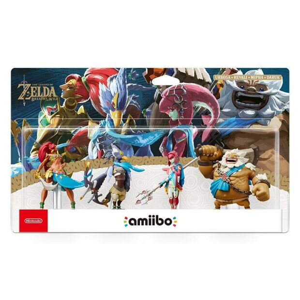 Nintendo amiibo The Legend of Zelda: Breath of the Wild...