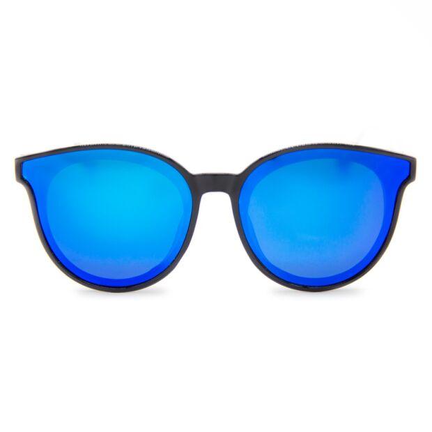 Damen Sonnenbrille von Kolibrii © Santa Clara Ocean Holz | polarisiert | blau verspiegelt