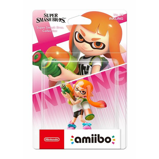 Nintendo amiibo Inkling- Super Smash Bros. Collection