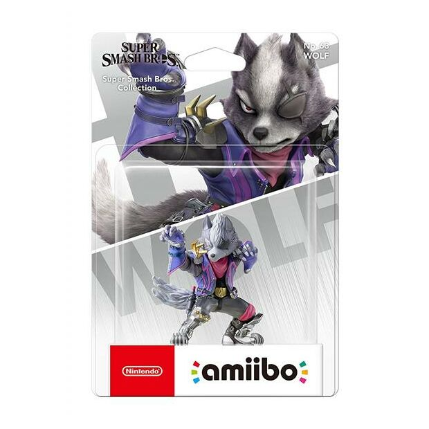 Nintendo amiibo Wolf Figur Super Smash Bros. Collection