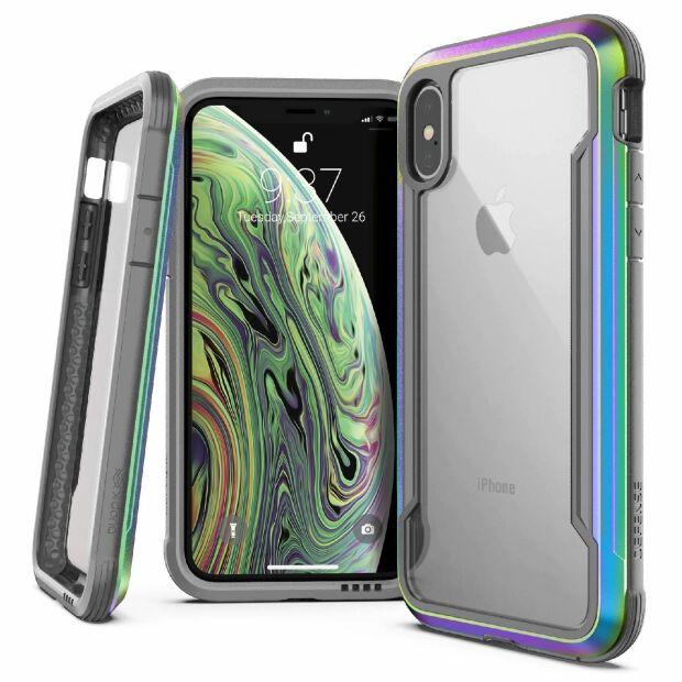 Premium Schutzhülle stoßfest Case Cover X-Doria Defense Shield für iPhone XS / X