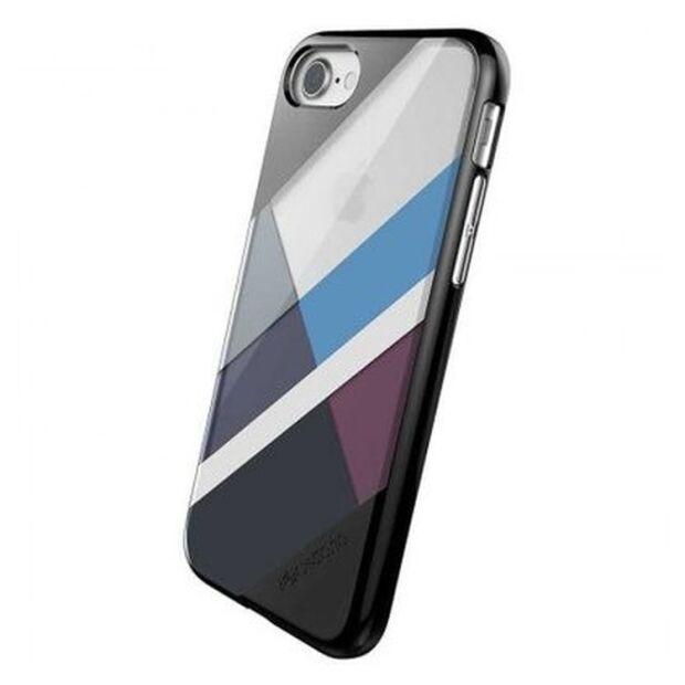 Premium Schutzhülle stoßfest Case X-Doria Revel Lux schwarz für iPhone 7 / 8